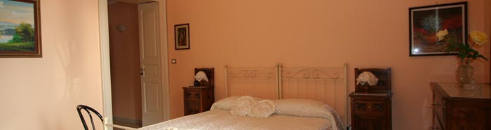 orange room of b&b Acireale Mare